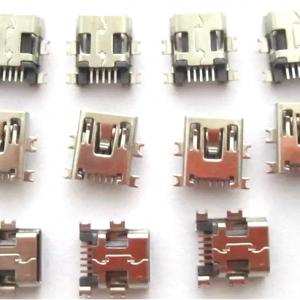 Generic Mini USB Port Connector (SMD/SMT) for GPS/Tablet